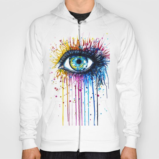 """Rainbow Eye"" Hoody"