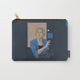 """Nevertheless, She Persisted"" Carry-All Pouch"