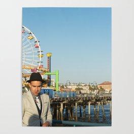 Pacific Santa Monica Poster
