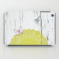 olivia joy iPad Cases featuring Olivia by The ArdentSparrow