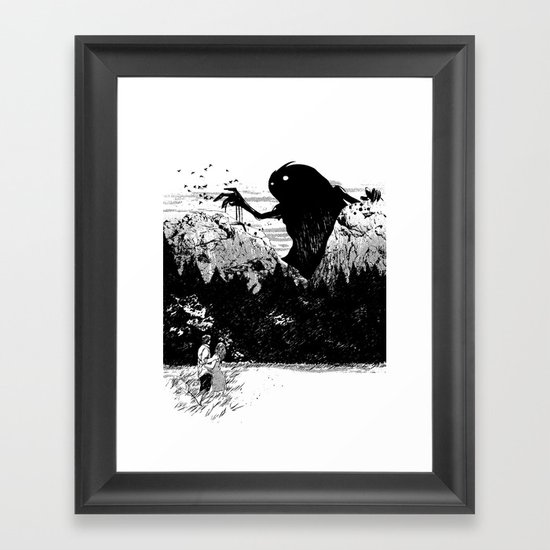 Perfect Timing Framed Art Print