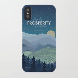 Prosperity Night iPhone Case