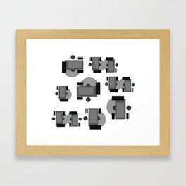 Disc Jockeys Framed Art Print