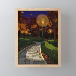 Fall Time Framed Mini Art Print