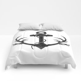 Antlered Anchor Comforters