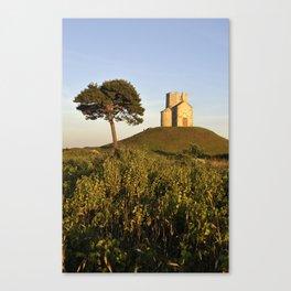 Old Church and Tree, Croatia Canvas Print