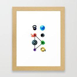 True Balance Studio– Fitness Framed Art Print