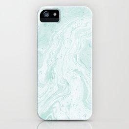 Seaforam Marble Print iPhone Case