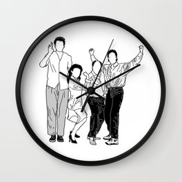 Seinfeld Wall Clock