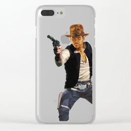 Indiana Solo Clear iPhone Case