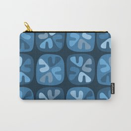 blue boomerangs Carry-All Pouch