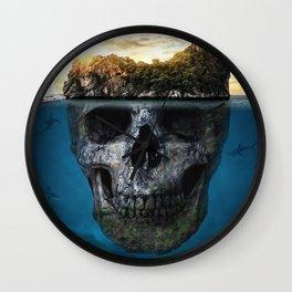 Mysterious island Wall Clock