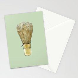 Chasen. Matcha whisk Stationery Cards