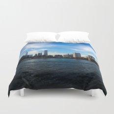 New York Skyline - Color Duvet Cover