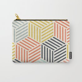 Colorful Geometric Pattern Carry-All Pouch