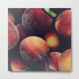 Ripe peaches Metal Print