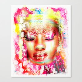 Africa calling Canvas Print