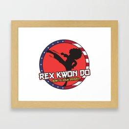 Rex Kwon Do - Bow To Your Sensei! Framed Art Print