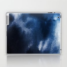 Watercolor Blue Laptop & iPad Skin