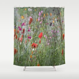 Meadow Flowers Shower Curtain