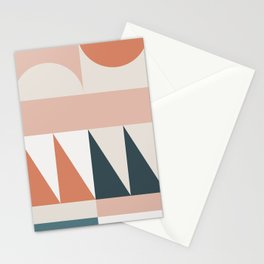 Cirque 04 Abstract Geometric Stationery Cards