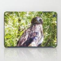hawk iPad Cases featuring Hawk by Veronika