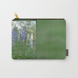 Silvery Lupine Flowers Carry-All Pouch
