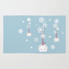 Snowflake Spoopy Rug
