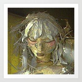Discarded Angel Art Print