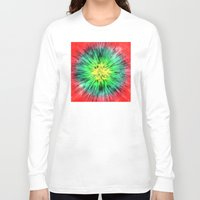 tie dye Long Sleeve T-shirts featuring Colorful Vintage Tie Dye by Phil Perkins