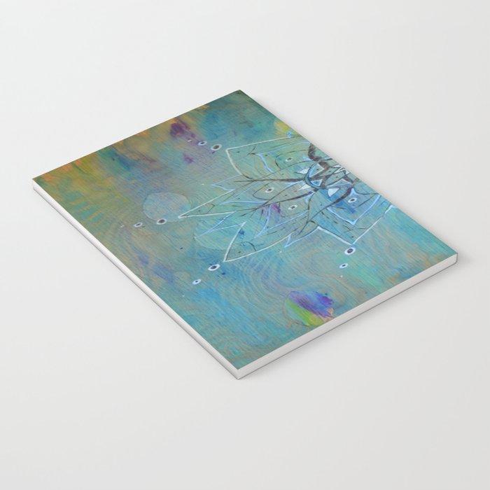 Pyrographic Mandala Notebook