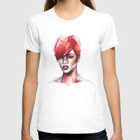 rihanna T-shirts featuring Rihanna by Allison Kunath