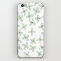 Blue Cherry Blossom iPhone & iPod Skin
