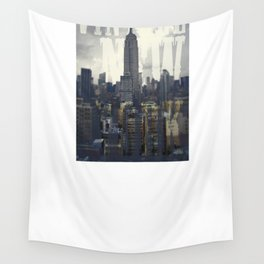 Vintage New York Wall Tapestry