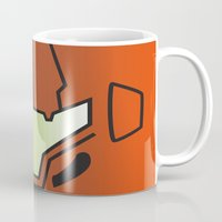samus Mugs featuring Metroid Samus by JAGraphic