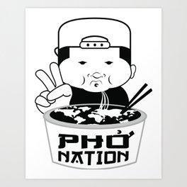 PHO NATION Art Print