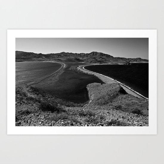 Punta La Gringa Art Print