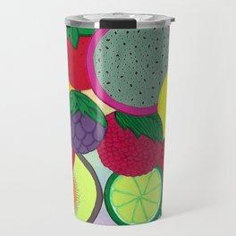 Fruity Circular Slices Travel Mug