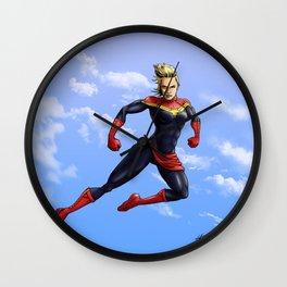 Captain Carol Wall Clock