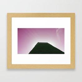 GYYYZA PYRAMID Framed Art Print