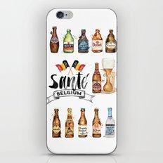 Belgium Beers iPhone & iPod Skin