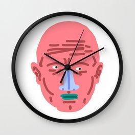 PINK FACE Wall Clock