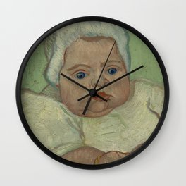 Portrait of Marcelle Roulin Wall Clock
