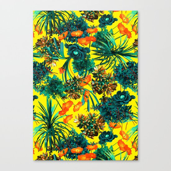 Exotic Garden IV Canvas Print
