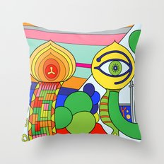 somedays i look (Joe Pansa/Freshinkstain) Throw Pillow