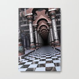 Darkened Eternity Metal Print