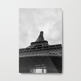 The Eiffel Tower From Below Metal Print