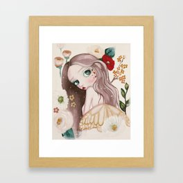 Autumn Pixie Framed Art Print