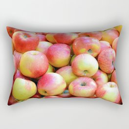 Red and yellow gala appples Rectangular Pillow