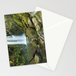 II - Rainforest waterfalls, Beauchamp Falls, Great Otway NP, Victoria, Australia Stationery Cards